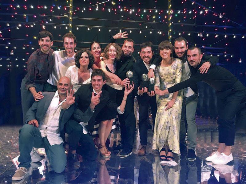 Gala Premios Max 2017 Kukai Dantza